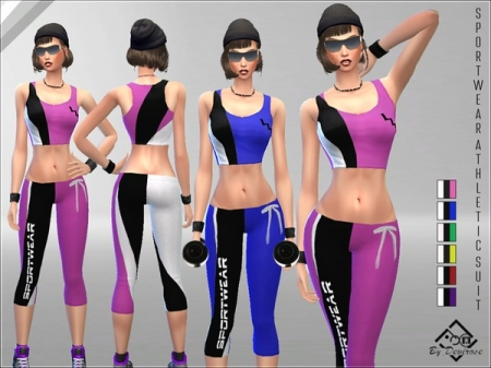 Sportswear Athletic Suit 1. ���������� ������ ��� �����