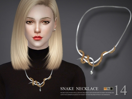 S-Club LL ts4 necklace N14. Ожерелье
