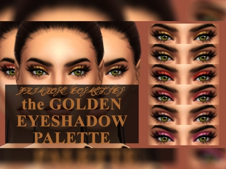 The Gold Eyeshadow Palette. ������� ������� ����� ��� �����
