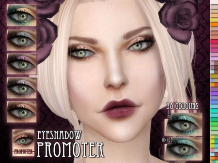 Promotor Eyeshadow. Палитра теней для симок