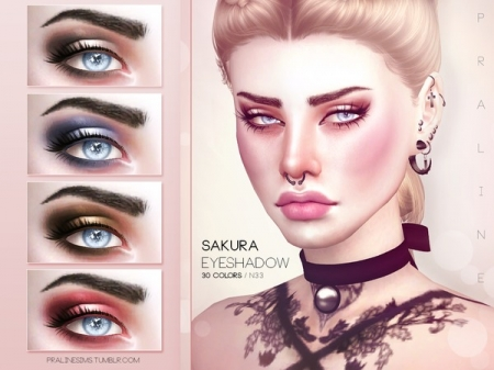 Sakura Eyeshadow N33. Тени для век