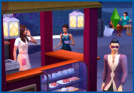 ����� ��� ������ �� The Sims 4 ����� � ������
