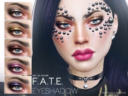 F.A.T.E. Eyeshadow N37. Тени для век для симок