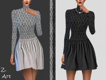 TrendZ. II. Короткое платье для симок