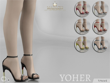 Madlen Yoher Shoes. Туфли для симок