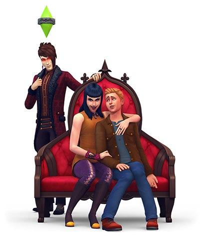 скачать игру симс 4 вампиры на компьютер - фото 8