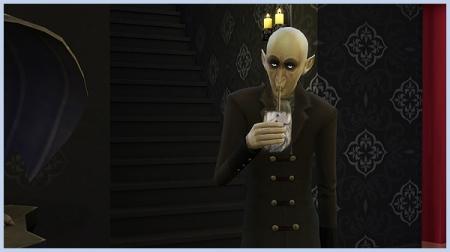 Навык вампиризма в Симс 4 Вампиры. Обзор