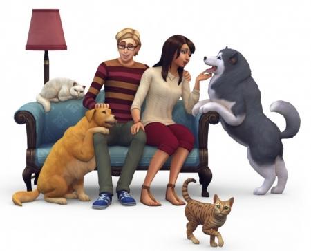 The Sims 4 Питомцы. Обложка и рендер. Слух