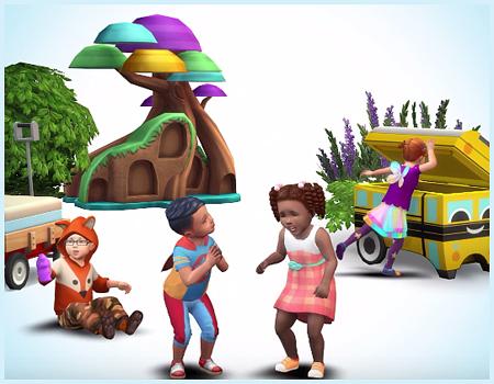 Скоро в The Sims 4! Каталог для малышей! Видео анонс!