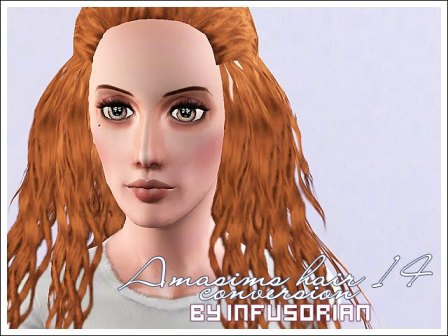 AMASIMS Hair 14 Conversion от Infusorian