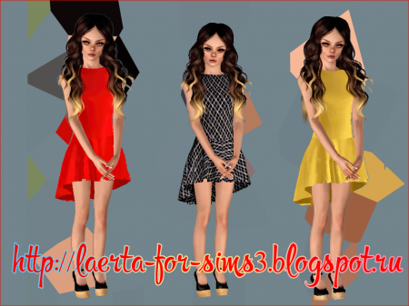 Платье teens dress yellow dress для тинок