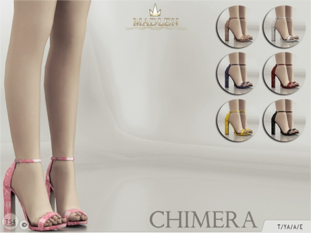 Madlen Chimera Shoes. Туфли для симок